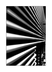 striped wall (Armin Fuchs) Tags: arminfuchs lavillelaplusdangereuse würzburg stripes wall metal building diagonal niftyfifty