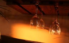Glasses in the sun (Digital Jim) Tags: glasses sunshine wood