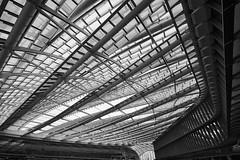 Les Halles, Paris (hha_photo) Tags: paris france europe leshalles roof structure building lacanopée halle canopy architecture strukturen monochrome black white blackandwhite schwarzweiss schwarzundweiss voigtländer voigtlander voigtländer15mm