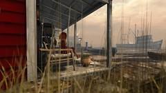 Watching ships pass (Myra Wildmist) Tags: secondlife sl myrawildmist virtualart virtualphotography virtualworlds frogmore ship porch