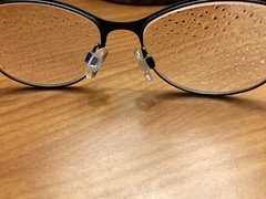 Vison...Or Lack Thereof (jchants) Tags: 119in2019 112vision glasses raindrops