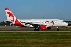 C-FYJG (Air Canada - rouge) (Steelhead 2010) Tags: aircanada rouge airbus yul creg cfyjg a319 a319100