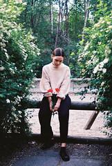 J + Flowers (olovsebastian) Tags: film filmphotography analog analogue analoguephotography analogphotography nikon nikonf501 f501 colorplus200 kodak kodakcolorplus200