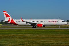 C-GHQI (Air Canada rouge) (Steelhead 2010) Tags: aircanada rouge airbus yul creg cghqi a321 a321200