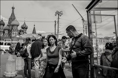 DRD160813_0369 (dmitryzhkov) Tags: urban outdoor life human social public stranger photojournalism candid street dmitryryzhkov moscow russia streetphotography people bw blackandwhite monochrome tourist bridge travel tripper excursion