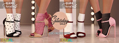 EQUAL - The Saturday Sale 10/19 (EQUAL SL) Tags: secondlife shoes sale saturday equal slink maitreya belleza signature alice