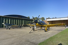 Hawker Sea Fury Mk.II (G-CBEL) (Chickenhawk72) Tags: hawker sea fury mkii flying legends duxford imperial war museum uk