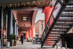 Albert Dock (Philip Brookes) Tags: albertdock liverpool stair step city town pillar architecture merseyside