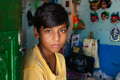 (Karunyaraj) Tags: india boy calm charida mask maskmaking westbengal ruralbengal rurallife nikon24120 d610 cwc cwc742