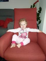 Mijn stoel!