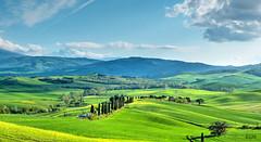 Val D'Orcia. Toscana (etoma/emiliogmiguez) Tags: toscana italia val dorcia prados cipreses