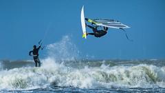 D'Light by Drummerdelight E (Drummerdelight) Tags: windsurfer surfer action seaside seascape dlight zeebrugge surfclubicarus