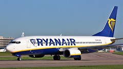 9H-QAC (AnDyMHoLdEn) Tags: ryanair 737 egcc airport manchester manchesterairport 23l