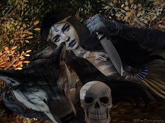 """I feel the darkness near me; I feel the light shining. And more keenly I feel the contrast between the two."" ― Anne Rice, The Witching Hour (Raegan Willow) Tags: ag aviglam sb soapberry maitreya genusproject genus genusstrongface e elikatira kibitz ikibitz swallow swallowears formanails sweetthing su suicideunborn re realevilindustries tlb thelittlebat lyrikaean hive hpmd lepoppycock foxcity jian lumipro autumn anypose bento miss witchinghour thewitchinghour witch wolf mymiss dominant skull tranquility elf elven exploresl explore fall halloween halloween2019 illgetyou outandabout photography photoshoot raeganwillow secondlifephotography secondlife secondliferesident sl slphotography slbeauties slresident slresidents virtual virtualword willowphotography willowphotographystudio 31daysofautumn 31daysoffall 31daysofhalloween day18"