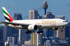A6-EFJ EK B77F 16R YSSY-8050 (A u s s i e P o m m) Tags: sydney newsouthwales australia emirates ek boeing syd yssy b77f skycargo emiratesskycargo