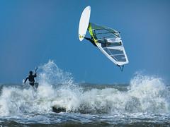 D'Light by Drummerdelight D (Drummerdelight) Tags: windsurfer surfer action seaside seascape dlight zeebrugge surfclubicarus