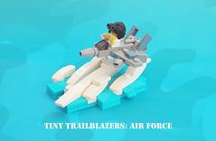 Tiny Trailblazers: Air Force (gid617) Tags: lego air force f15 eagle baby tiny trailblazer micro
