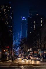 New York (KennardP) Tags: newyork newyorkcity manhattan nyc cityatnight citylights nightlights nightphotography handheldnightphotography city night nightlife canoneosr buildings lights skyline newyorkskyline apartmentbuildings officebuildings cars windows road reflection