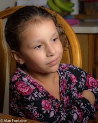 Girl in a flower print dress (Al Fontaine) Tags: girl girls children grandchild