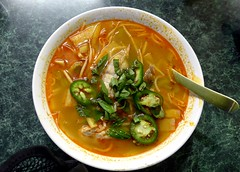Fish soup, Da Kaw Restaurant, Sioux City (ali eminov) Tags: siouxcity iowa food asianfood vietnamese fishsoup restaurants dakaorestaurant
