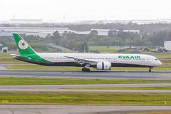 B-17803 B78X EVA YBBN (Sierra Delta Aviation) Tags: eva air boeing b78x brisbane airport ybbn b17803