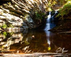 Lower Cascade Falls (crfleury) Tags: crfleury 7d 2019 canon nc falls waterfall rokinon 16mmf20 hangingrock hangingrockstatepark