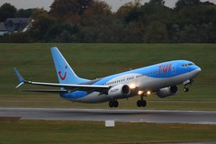G-TAWG ~ 2019-10-14 @ BHX (23) (www.EGBE.info) Tags: birminghamairport generalaviation bhx egbb aircraftpictures aircraftpix gtawg aviation planespotting boeing737 airplanephotos aeroplanepictures aerroplane cvtwings davelenton canoneos800d httpwwwegbeinfo 14102019 splitscimitarwinglets tuiairuk