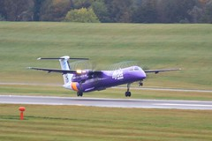 G-PRPF ~ 2019-10-14 @ BHX (10) (www.EGBE.info) Tags: gprpf birminghamairport bhx egbb aircraftpix generalaviation aircraftpictures airplanephotos aerroplane aeroplanepictures cvtwings planespotting aviation davelenton httpwwwegbeinfo canoneos800d 14102019 dehavilland dhc8 flybe
