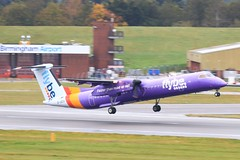 G-JEDV ~ 2019-10-14 @ BHX (20) (www.EGBE.info) Tags: gjedv birminghamairport bhx egbb aircraftpix generalaviation aircraftpictures airplanephotos aerroplane aeroplanepictures cvtwings planespotting aviation davelenton httpwwwegbeinfo canoneos800d 14102019 dehavilland dhc8 flybe