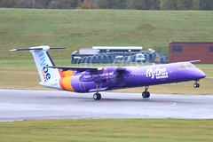 G-JEDV ~ 2019-10-14 @ BHX (18) (www.EGBE.info) Tags: gjedv birminghamairport bhx egbb aircraftpix generalaviation aircraftpictures airplanephotos aerroplane aeroplanepictures cvtwings planespotting aviation davelenton httpwwwegbeinfo canoneos800d 14102019 dehavilland dhc8 flybe