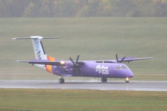 G-JEDV ~ 2019-10-14 @ BHX (01) (www.EGBE.info) Tags: gjedv birminghamairport bhx egbb aircraftpix generalaviation aircraftpictures airplanephotos aerroplane aeroplanepictures cvtwings planespotting aviation davelenton httpwwwegbeinfo canoneos800d 14102019 dehavilland dhc8 flybe