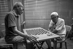 The Game 3 (rcoulstock) Tags: leica monochrom monochrome bw blackandwhite bnw singapore chinatown elderly men local life culture people street streetphotography
