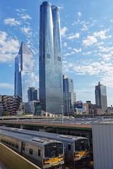 Hudson Yards, NY (dirklie65) Tags: new york yards hudson vessel skyscraper hochhäuser wolkenkratzer railroad mta
