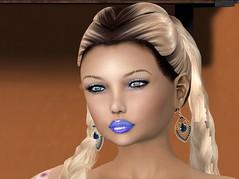 Chop Zuey - Zingara Earrings (aerlinniel.roughneck) Tags: thelittlebat soul analogdog beautykartel chopzuey comesoonposes darkpassionskoffinnails engineroom fameshed haveunequal lootbox sntch tootyfruity witchcraft