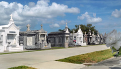 St. Louis Cemetery No. 3. New Orleans. (Bernard Spragg) Tags: stlouiscemeteryno3neworleans cemetery graves tombs crypts lumix interestingcemeteries cco