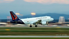 OO-SSG Brussels Airlines Airbus A319-112 (Nick Air Aviation Photography) Tags: img6518 oossgbrusselsairlinesairbusa319112 planes milanmxpairport planesspotting aviationphotography panning panningphotograph