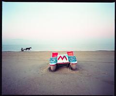 (M) (Robbie McIntosh) Tags: mamiyarb67pros mamiyarb67 mamiya mamiyasekor65mmf45 120 mediumformat 6x7 negative film filmisnotdead moyenformat mittelformat medioformato pellicola bellinifotoc41 bellini c41 dyi selfdevelopment homedevelopment newtopographics landscape autaut kodakektar kodak portra kodakportra160 topography topographics decay beach sea alteredlandscape dawn licola