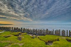 Moddergat (BadgerPhoto45) Tags: sigma quattro foveon x3f 1020mm haida filter m10 moddergat friesland netherlands wadden waddenzee mudflats mud flats waddensea sunset clouds landscape seascape