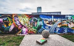 Berlin Wall Art (Jenke-PhotozZ) Tags: berlin berlinstyle grafitti perspective abstract art artwork urban urbanart mediaspree osthafen motive wall creative composition colors style amazing streetart abstraction illustration surface berlin365 berlinlove graphic graphicdesign wallporn sprayart