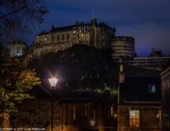 DSC_7821: Edinburgh Castle from the Vennel (Colin McIntosh) Tags: thevennel edinburghcastle edinburghcastlenikon 50mm f2 h manual d610