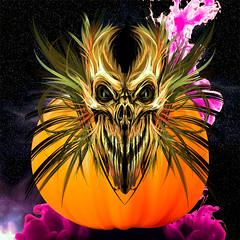 Creepy Show (Swissrock-II) Tags: challenge halloween darkness dark creepy horror monster devile pumpkin 2019 october colors lightroom texture