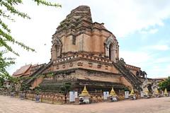 Wat Chedi Luang in Chiang Mai 5.9.2019 2114 (orangevolvobusdriver4u) Tags: archiv2019 2019 thailand totallythailand chiangmai norththailand temple tempel wat watchediluang chedi luang