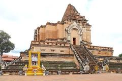 Wat Chedi Luang in Chiang Mai 5.9.2019 2108 (orangevolvobusdriver4u) Tags: archiv2019 2019 thailand totallythailand chiangmai norththailand temple tempel wat watchediluang chedi luang