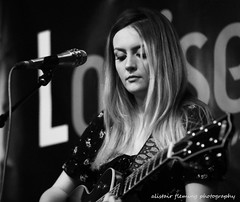 IMG_0039 Louise (marinbiker 1961) Tags: louiseconnell music musician bw colour color gladcafe glasgow gig live livemusic photography guitar