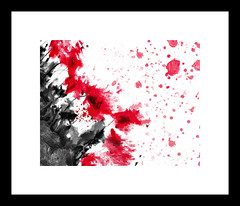 Abstract Flowers (-Simulacrum-) Tags: redflowers flowers abstractflowers creative art digitalpainting poppyflowers oilpaint texture photoart