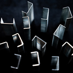 stapletown (m_laRs_k) Tags: staples macromondays z abstract hmm hemm sciencefiction classicchrome chrome kodachrome square stationery desk dof zorro yourbestshot2019