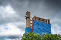 Trellick (100 Real People) Tags: nikond750 nikkor1835f3545 trellicktower london highrise tower slab concrete brutalist architecture postwar socialhousing goldfinger ernogoldfinger publichousing
