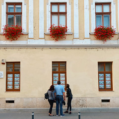 three's company (mennyj) Tags: cluj napoca romania transylvania travel work trip 2019 fall mobile iphone iphone11