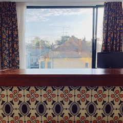 hotel patterns (mennyj) Tags: cluj napoca romania transylvania travel work trip 2019 fall mobile iphone iphone11 doubletree cityplaza hotel interior decor