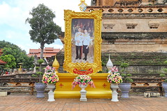 Wat Chedi Luang in Chiang Mai 5.9.2019 2109 (orangevolvobusdriver4u) Tags: archiv2019 2019 thailand totallythailand chiangmai norththailand temple tempel wat watchediluang chedi luang